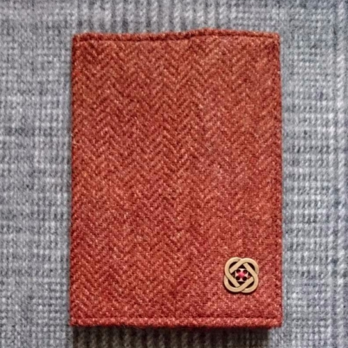 14. passport / notebook cover