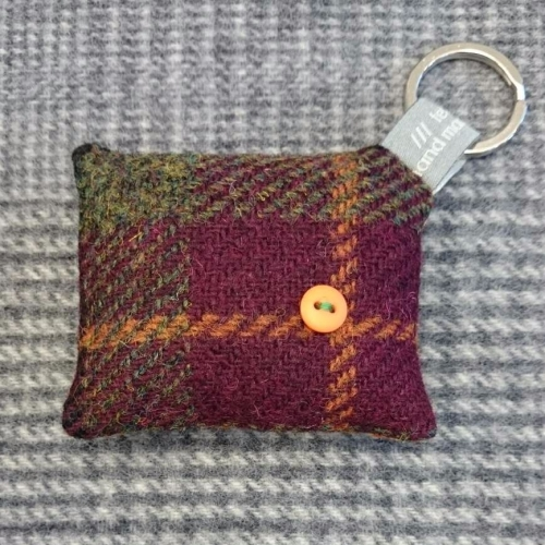 30. wool key ring / bag charm