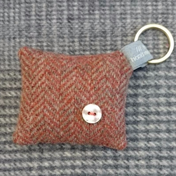 50. wool key ring / bag charm