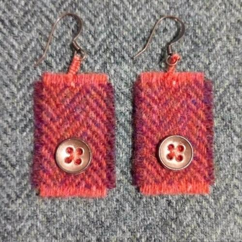 2. wool earrings