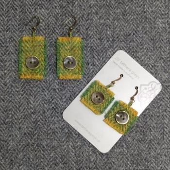 3. wool earrings