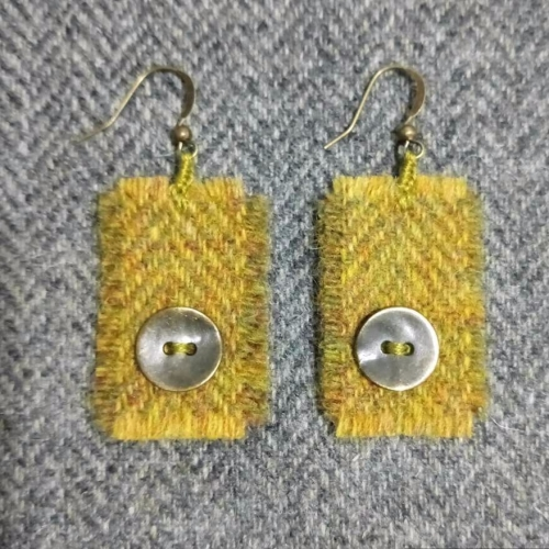 6. wool earrings