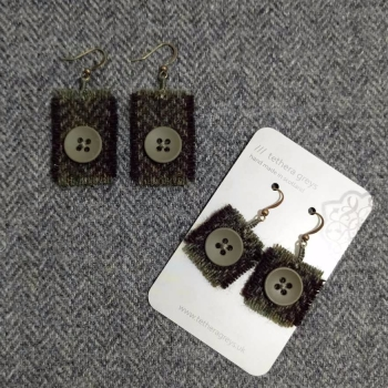 11. wool earrings