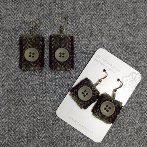 11. wool earrings