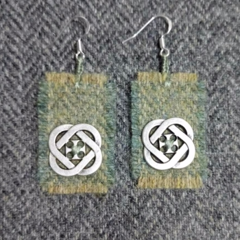 12. wool earrings