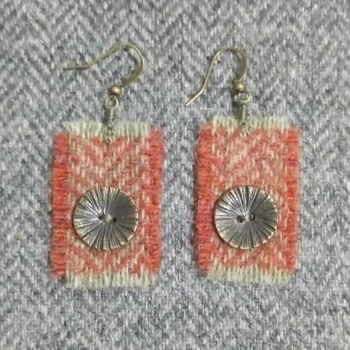 14. wool earrings