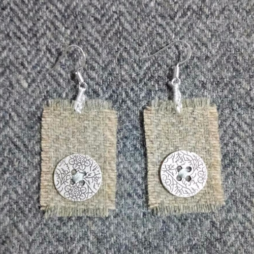 18. wool earrings