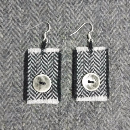 22. wool earrings