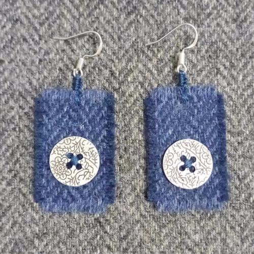 24. wool earrings