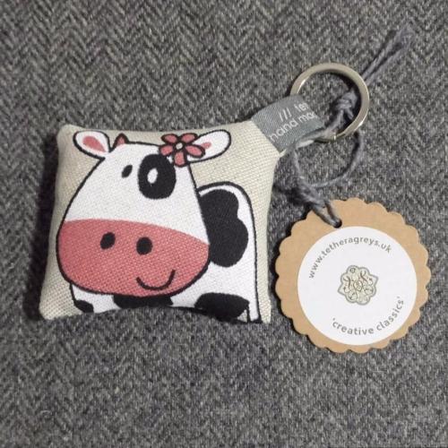 34. farmyard key ring / bag charm