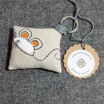 43. farmyard key ring / bag charm