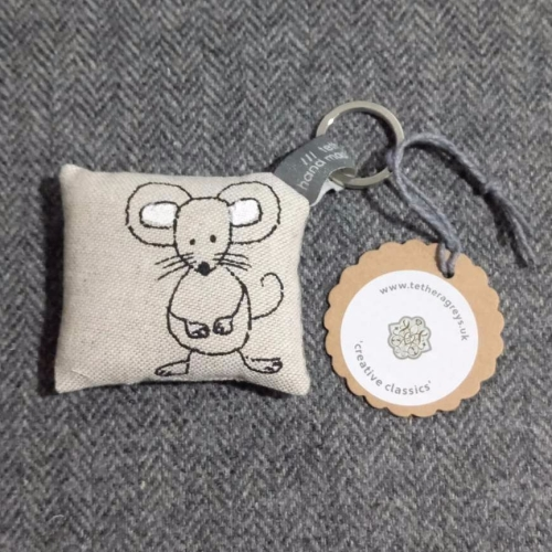 44. farmyard key ring / bag charm
