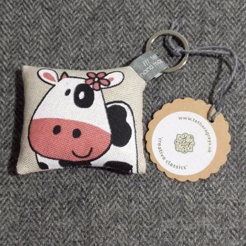 46. farmyard key ring / bag charm