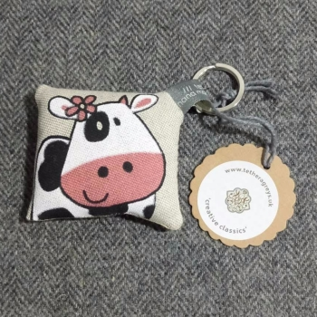 49. farmyard key ring / bag charm