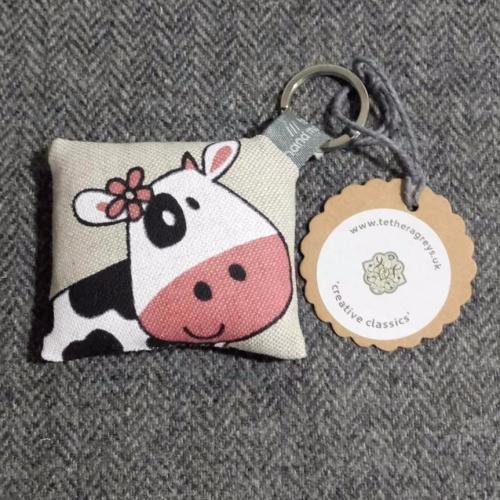 52. farmyard key ring / bag charm