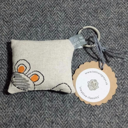 53. farmyard key ring / bag charm
