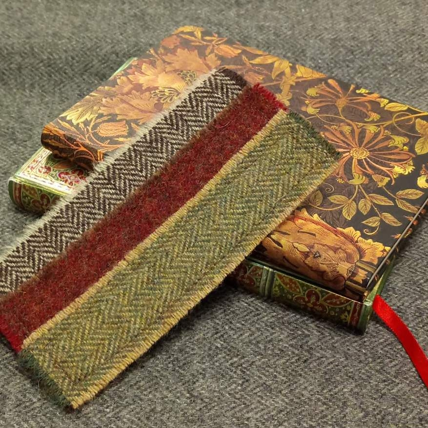 tweed bookmark