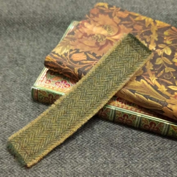 2. tweed bookmark
