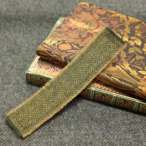 2. tweed bookmark