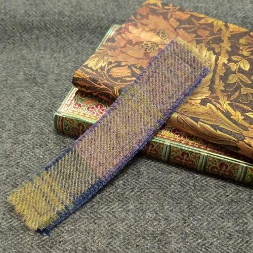 3. tweed bookmark