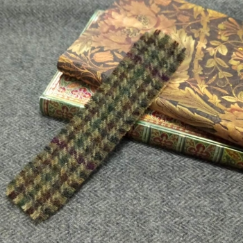 6. tweed bookmark