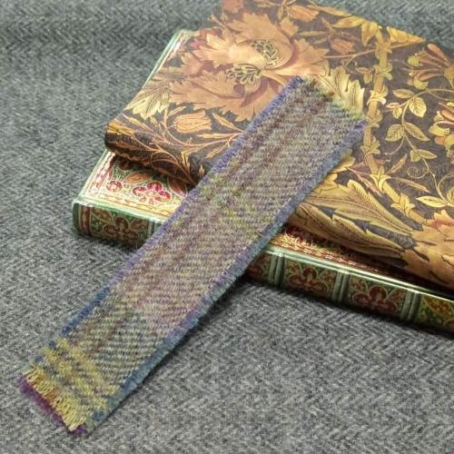 7. tweed bookmark