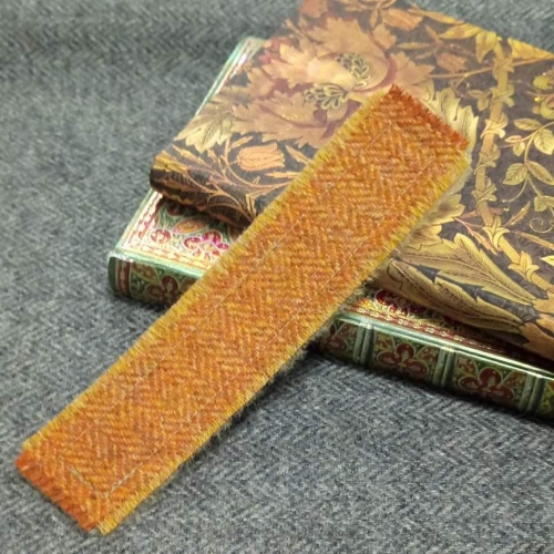 8. tweed bookmark