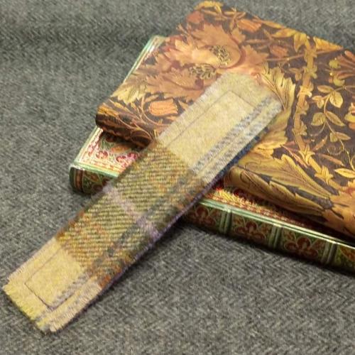 9. tweed bookmark