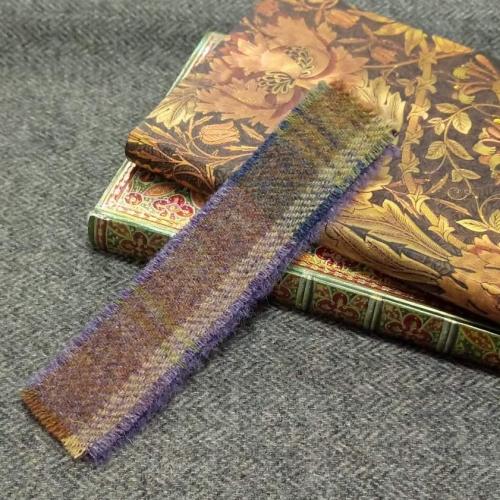 10. tweed bookmark