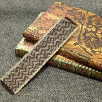 13. tweed bookmark