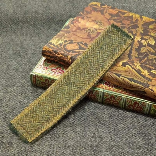 14. tweed bookmark