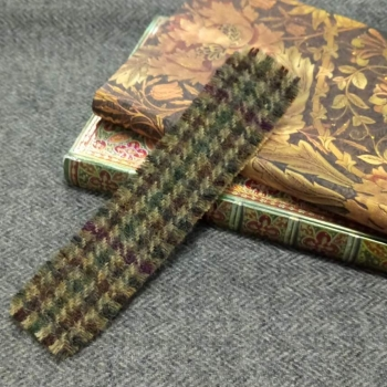 15. tweed bookmark