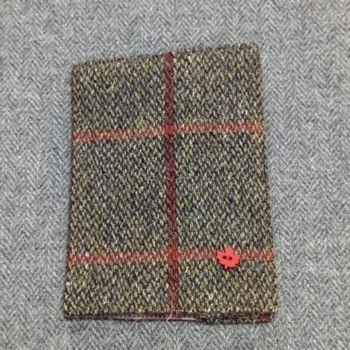 42. passport / notebook cover