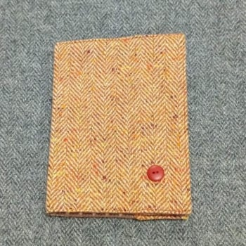 40. passport / notebook cover