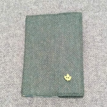37. passport / notebook cover