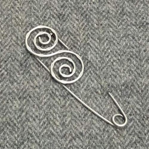 double swirl silver