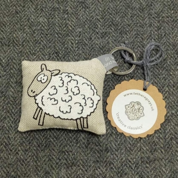 54. farmyard key ring / bag charm