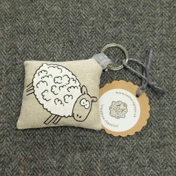 57. farmyard key ring / bag charm