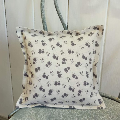 4. mini linen cushion