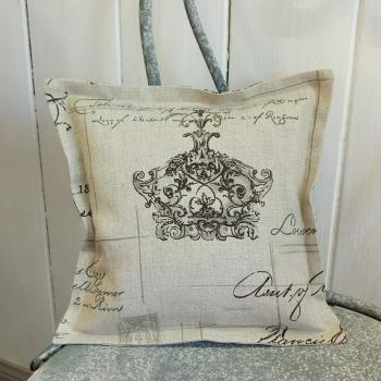 6. mini linen cushion