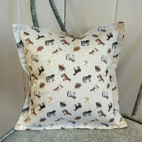 77. mini cotton cushion