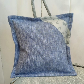 11. mini tweed cushion