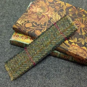 16. tweed bookmark