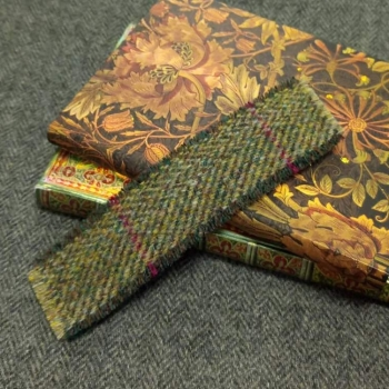 17. tweed bookmark