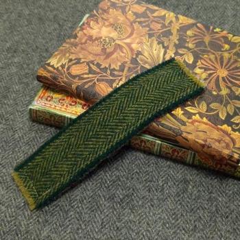 18. tweed bookmark