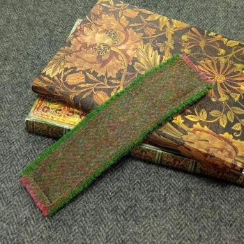 19. tweed bookmark