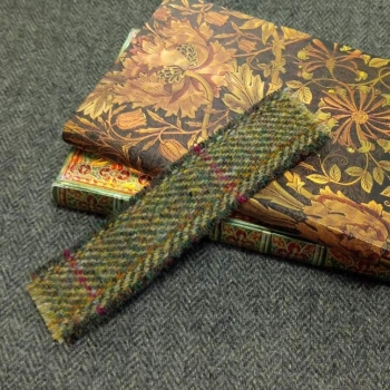 20. tweed bookmark