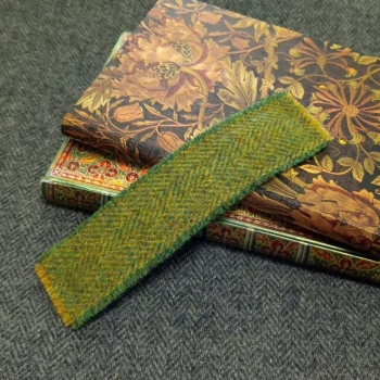 21. tweed bookmark