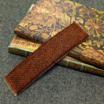 22. tweed bookmark
