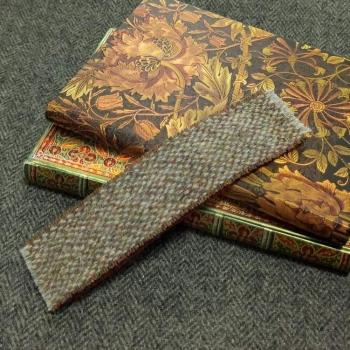 23. tweed bookmark